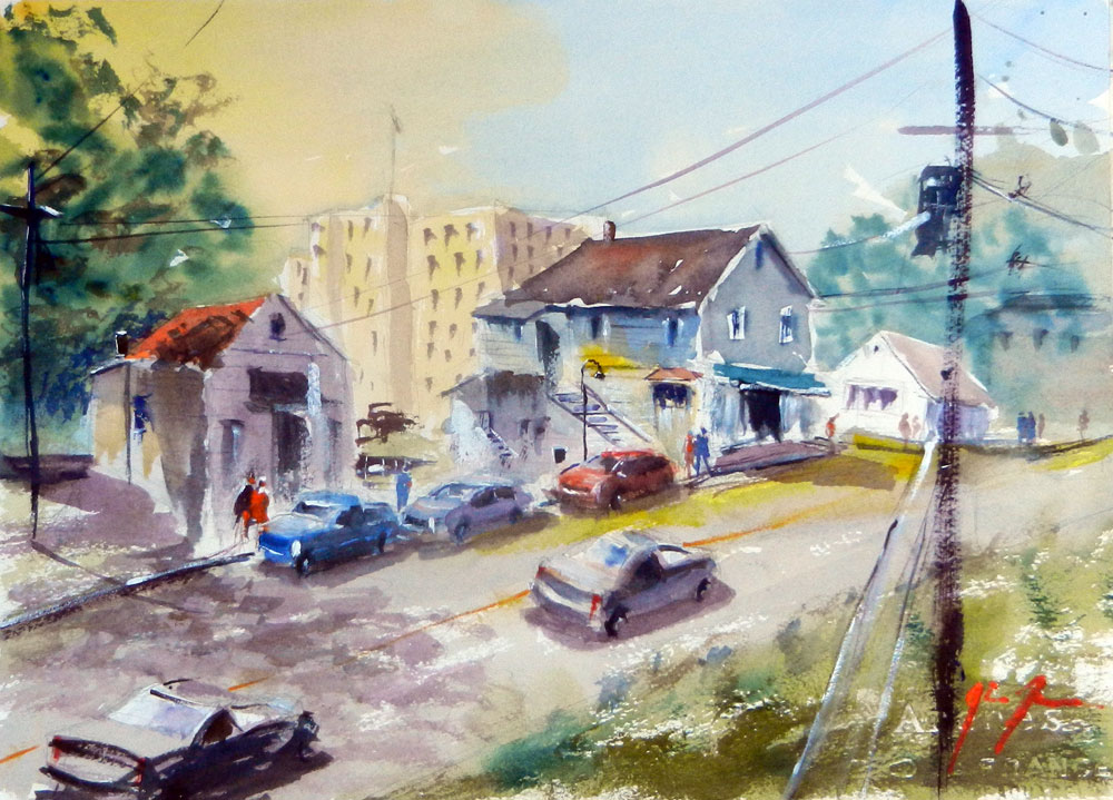 Watercolor Workshop, Wednesday, 1/10 & 1/24, both are 5:15-7:45 pm.